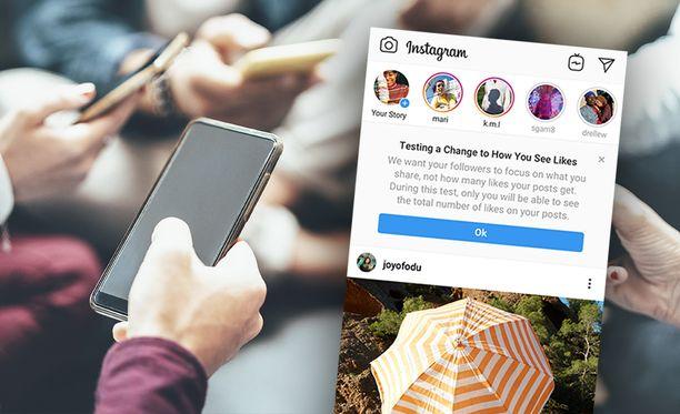 Instagram haluaa käyttäjien kiinnittävän huomiota enemmän itse sisältöön.