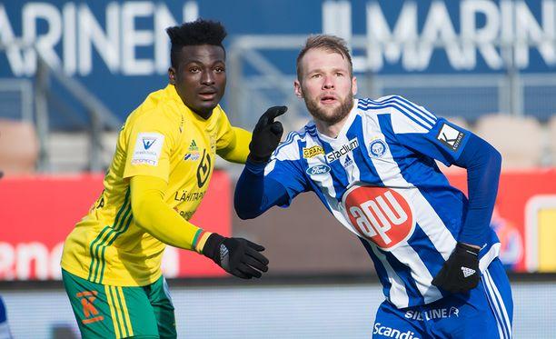 Ilves meni johtoon, mutta HJK väänsi lopulta 3-1-voiton.