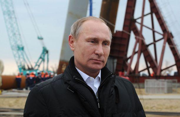 Silta on Putinin suurin hanke.