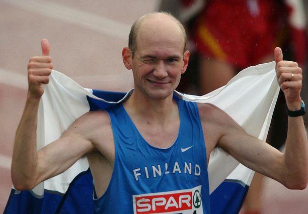 Janne Holmen voitti urallaan maratonin EM-kultaa. Minä vuonna?