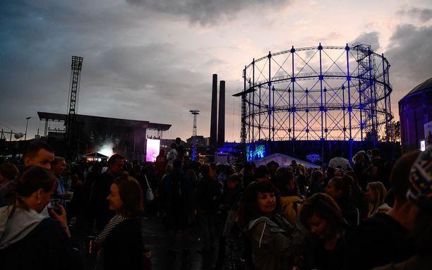 Flow-festivaalia vietetään Helsingin Suvilahdessa.
