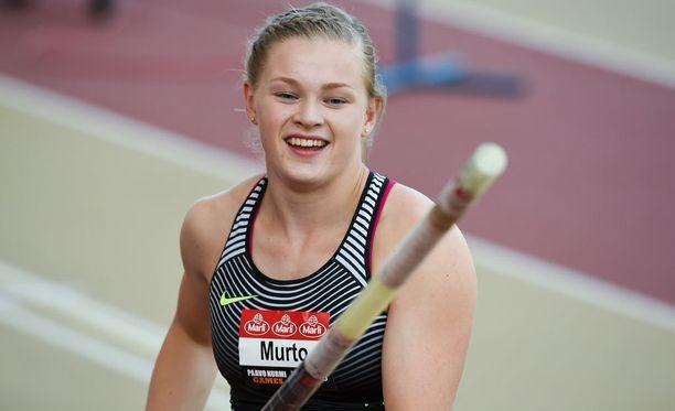Wilma Murron seuraava pääkilpailu on Rion olympiakarsinta.