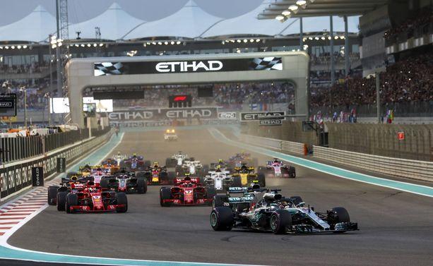 Heti Abu Dhabin startin jälkeen rytisi oikein kunnolla.