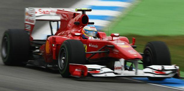 Ferrarit olivat iskussa Hockeynheimin toisissa harjoituksissa.