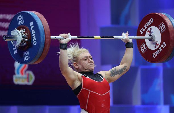 Boyanka Kostova otti EM-kultaa huhtikuussa.