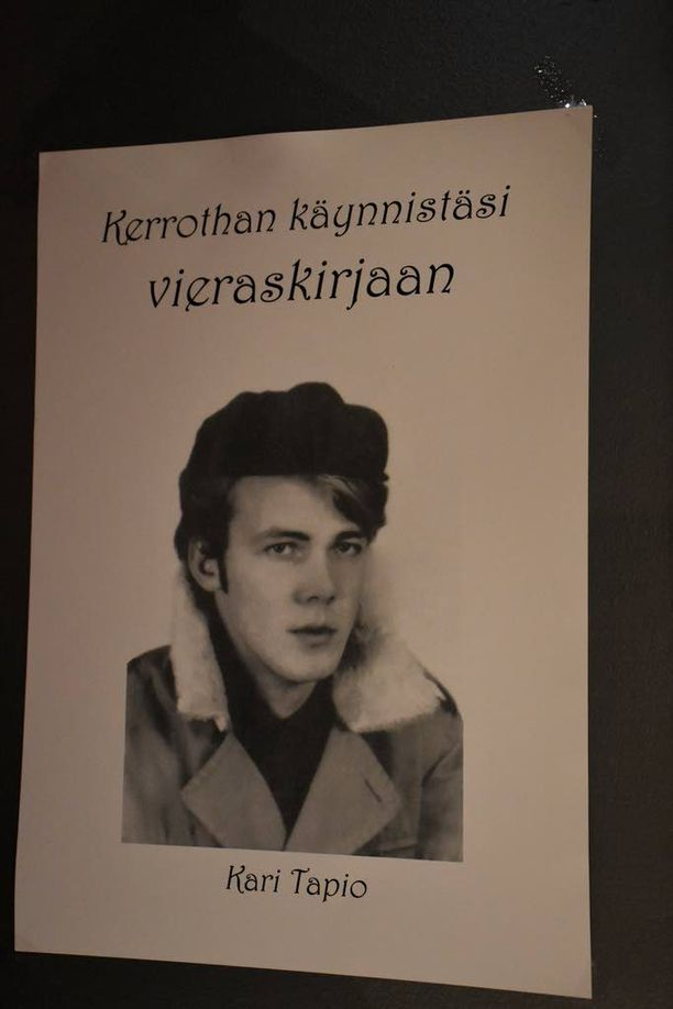 Nuori Kari Tapio valokuvattuna joskus 60-luvulla.