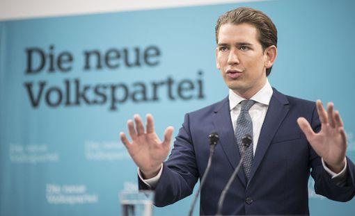 31-vuotias Sebastian Kurz vei puoluettaan huomattavasti oikealle.