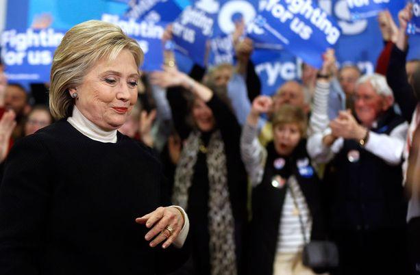Hillary Clinton oli hämmentynyt tappion suuruudesta.