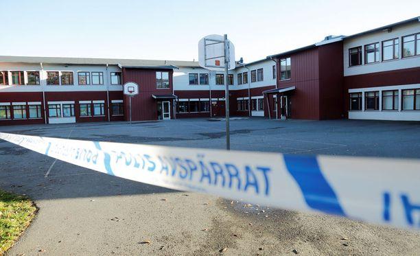 Trollhättanin kouluhyökkäyksessä kuoli kaksi ihmistä.