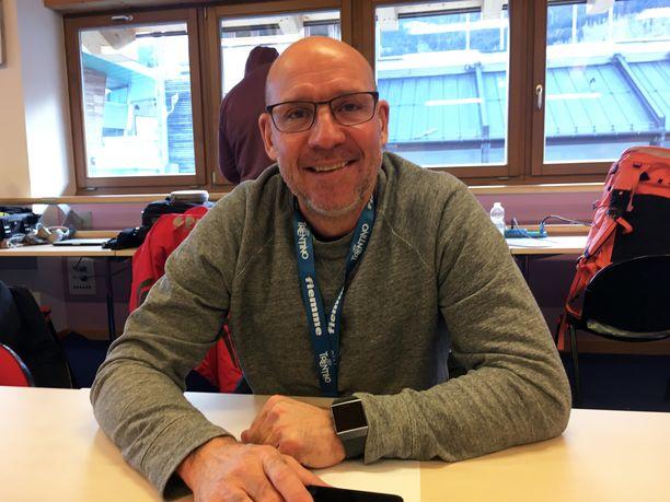 Torgny Mogren, 55, on työskennellyt vuodesta 2003 lähtien Ruotsin radiossa hiihtokommentaattorina.