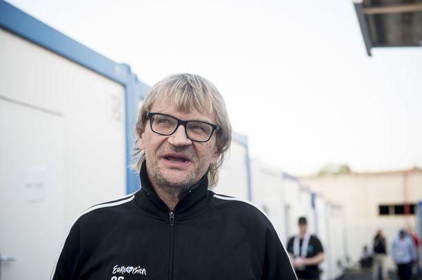 Antero Mertaranta on selostanut kaikki jääkiekon MM-kisat vuodesta 1995 lähtien.