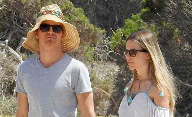 Nico Rosberg ja Vivian-vaimo lomailivat Espanjassa myös viime kesänä.