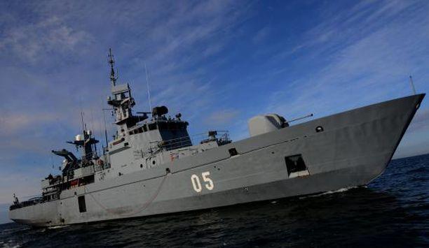 Merivoimien touko-kesäkuun vaihteessa pidettävään pääsotaharjoitukseen osallistuu kymmeniä aluksia. Kuvassa miinalaiva Uusimaa.