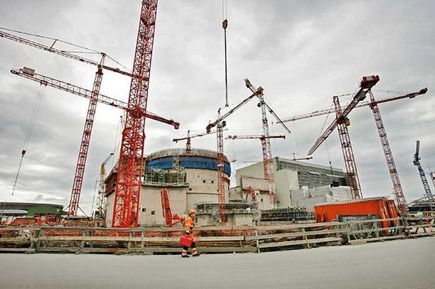 Olkiluodon ydinvoimalahankkeen vaikeudet jatkuvat.