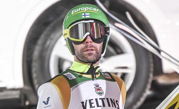Janne Ahonen oli sunnuntaina paras suomalainen. Sijoitus 37:s.