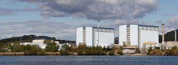 Marcoulen ydinlaitos sijaitsee Etelä-Ranskassa.