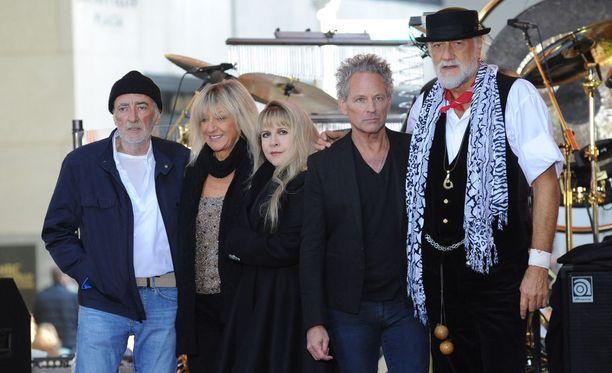 Fleetwood Mac on jälleen pinnalla.