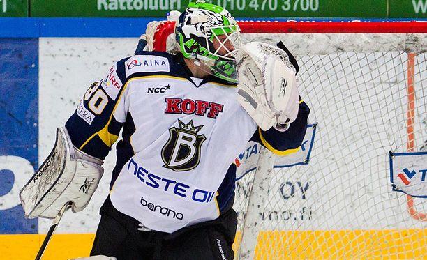Jonathan Iilahti, 24, pelasi alkukauden Modossa.