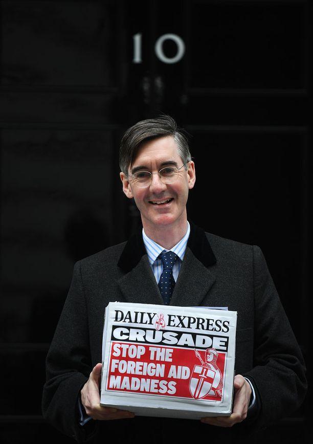 Oikeistosiiven Jacob Rees-Moggin on spekuloitu haastavan pääministeri Mayn Iso-Britannian konservatiivipuolueen johdossa.