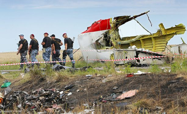 Lento MH17 syöksyi maahan Ukrainassa heinäkuussa 2014.