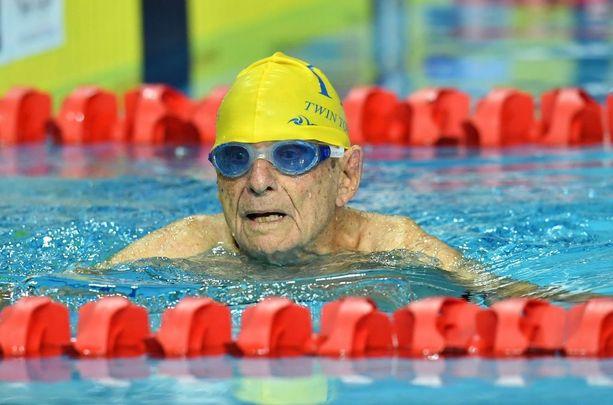 George Corones sanoi olevansa ilahtunut 50 metrin vapaauinnin tuloksestaan.