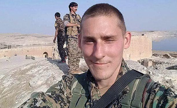 20-vuotias Ryan Lock liittyi perheeltään salaa kurditaistelijoihin Pohjois-Syyriassa.