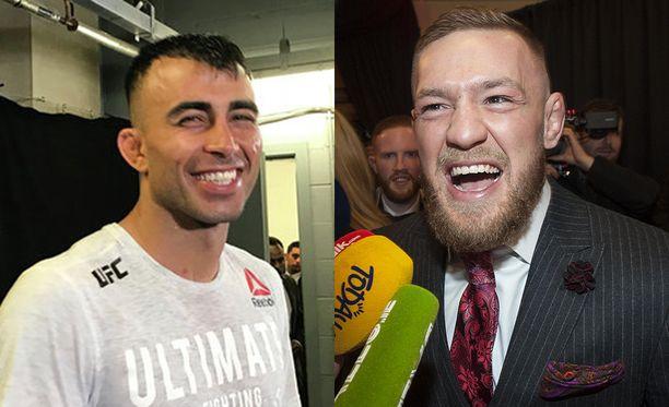 Makwan Amirkhani kertoo saaneensa hyviä vinkkejä Conor McGregorilta.