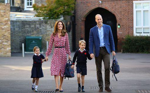 Prinssi George, 6, ja prinsessa Charlotte, 4, passitetaan kotikouluun – opiskelujen vuosimaksu yli 20 000 euroa