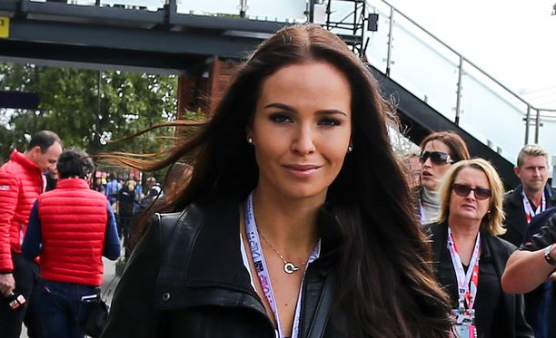 Minttu Virtanen kuvattiin Australian Grand Prix'ssä viikko sitten.