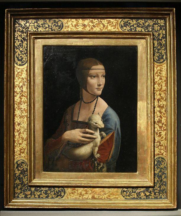 Pelkästään tämän Nainen ja kärppä teoksen arvo on suurempi kuin koko kokoelmasta maksettiin.