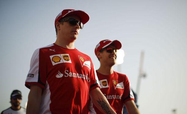 Kimi Räikkönen saattaa yllättää sunnuntain kisassa.
