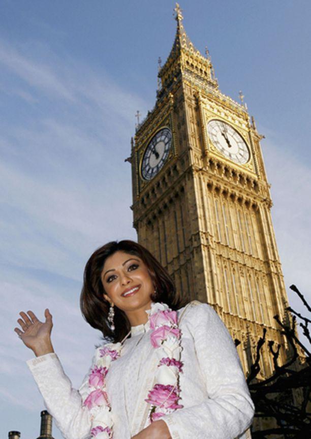 Shilpa Shetty ei kanna kaunaa Britannialle.