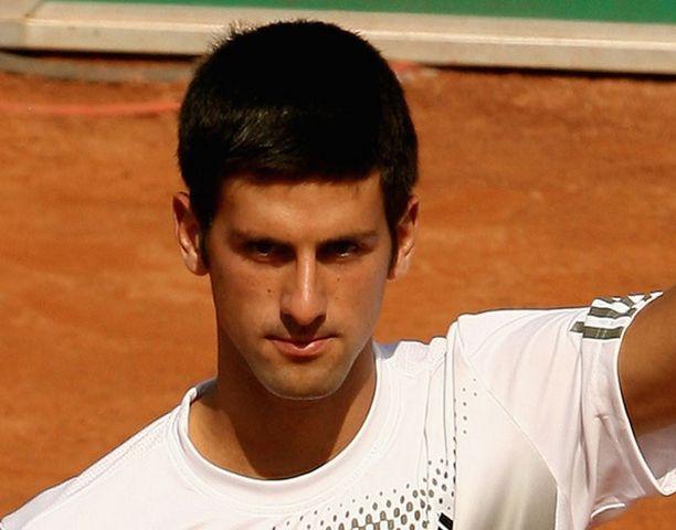 Novak Djokovic on turnauksen kolmossijoitettu.