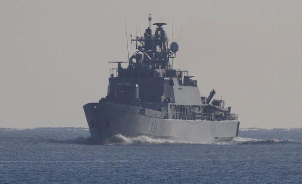 Miinalaiva Pohjanmaa päätti tehtävänsä kansainvälisessä Atalanta-operaatiossa, jonka päätehtävä oli suojata Somaliaan meneviä avustusoperaatioita.