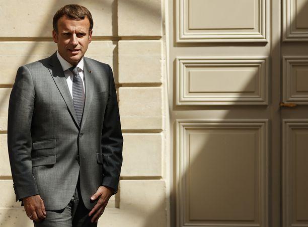 Emmanuel Macronin kansliassa vakoiluepäilyä pidetään erittäin vakavana.