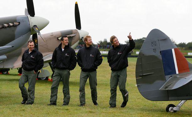 Muistotilaisuus toi yhteen paikkaan eniten Ison-Britannian ilmasodan kalustoa sitten toisen maailmansodan.