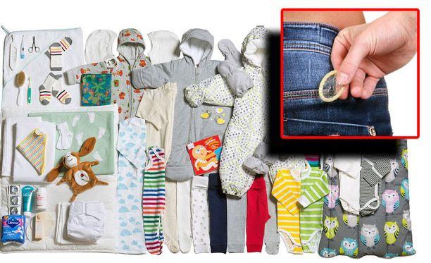 Yhdeksi mahdolliseksi ratkaisuksi Bloomberg väläyttää kondomien jättämistä pois äitiyspakkauksista. Äitiyspakkauksia on jaettu vuodesta 1937, ensin vähävaraisille ja myöhemmin kaikille.