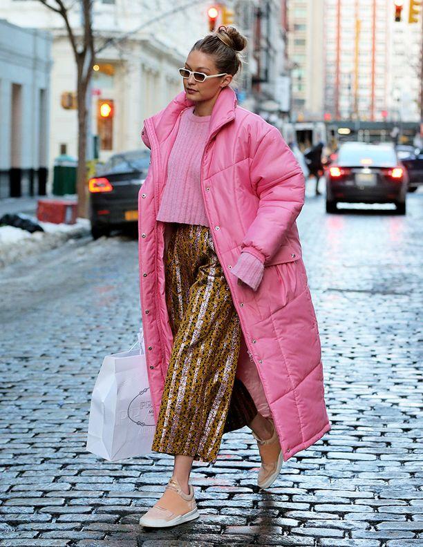 Gigi Hadid on tunnettu kokeilevasta tyylistään.
