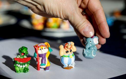 Piileekö kotinurkissasi aarre? Vanhojen Kinder-lelujen arvo saattaa olla jopa tuhansia euroja