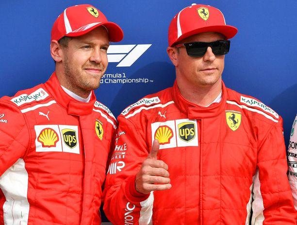 Sebastian Vetteliä surettaa, että hänen ja Kimi Räikkösen tiet erkanevat tämän kauden jälkeen.
