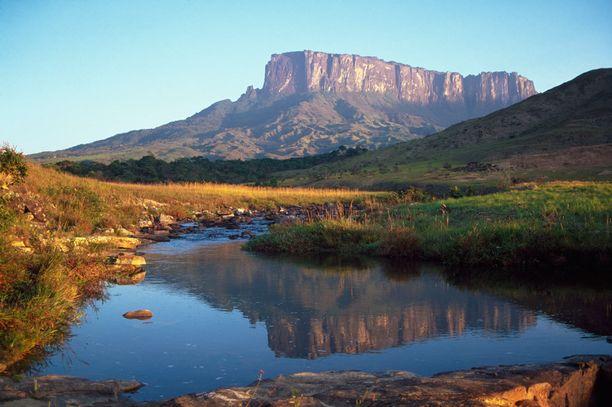 Roraima-vuori sijaitsee venezuelalaisessa kansallispuistossa.