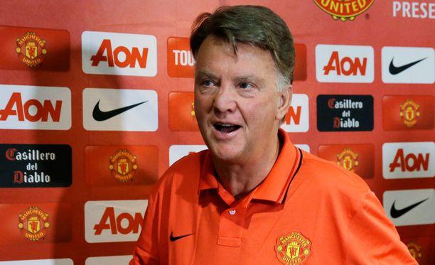 Louis van Gaalin mielestä United tarvitsee parempia pelaajia.