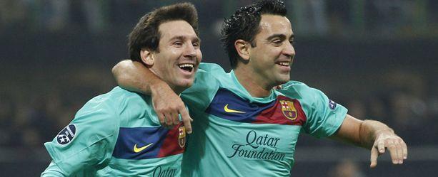 Tämä kaksikko oli pitelemätön Milanille.