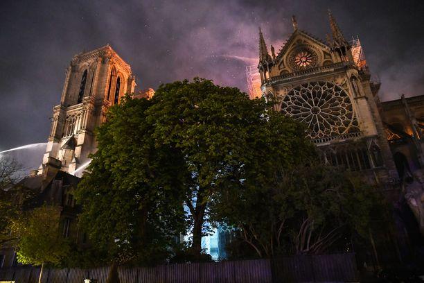 Notre Dame on 850 vuotta vanha katolinen katedraali.