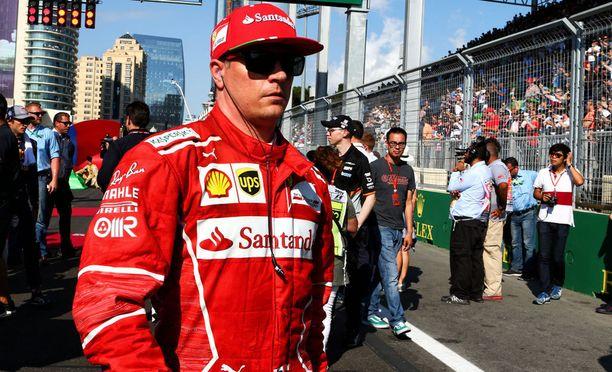 Kimi Räikkönen luottaa super-softeihin Silverstonessa.