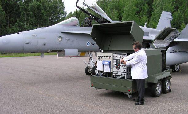 Toimitusjohtaja Rauno Hakalan Laser Gasin kehittämä tuote on käytössä Suomen puolustusvoimien lisäksi jo muuallakin.