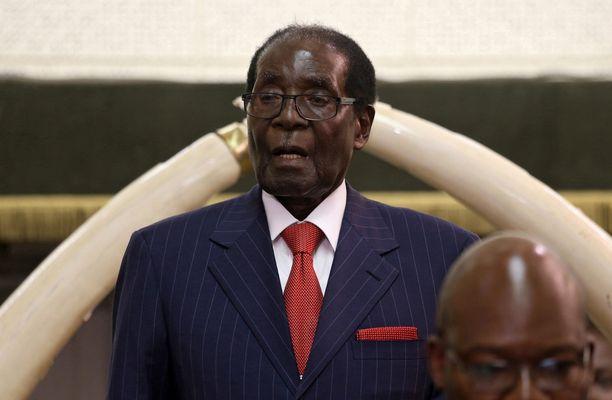 Robert Mugabe on maailman vanhin diktaattori.