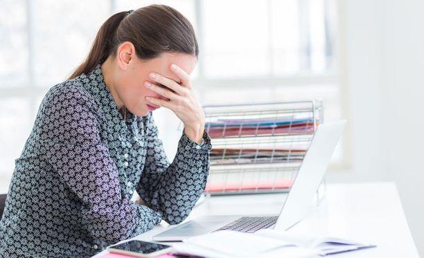 Työuupumus vaivaa jopa joka neljättä työikäistä.