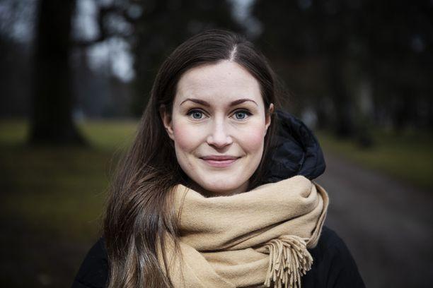 Sanna Marin valittiin pääministeriksi 8.12.2019.