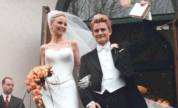 Lenni-Kalle Taipaleen ja Maria-vaimon avioliitto päättyi 17 vuoden jälkeen.